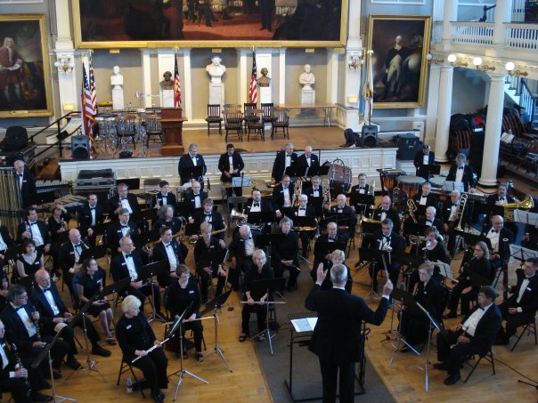 The Concord Band at Faneuil Hall on June 6, 2009